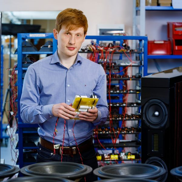 elektroonika akustika inseneri